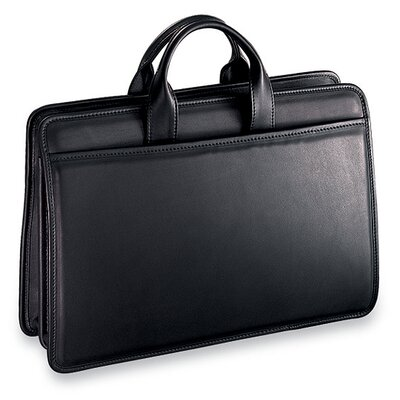Jack Georges Platinum Triple Gusset Briefcase