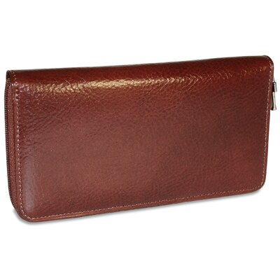 Jack Georges Sienna Checkbook/Travel Women's Wallet