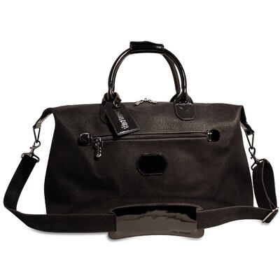 """Jack Georges Nevada 19"""" Patent Leather Carry-On Duffel"""
