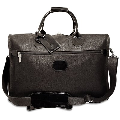 """Jack Georges Nevada 18"""" Patent Leather Carry-On Duffel with 3 Way Zip"""