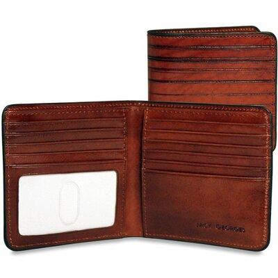 Jack Georges Monserrate Bi-Fold Hipster Wallet