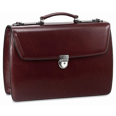 Jack Georges Elements Triple Gusset Flap Briefcase