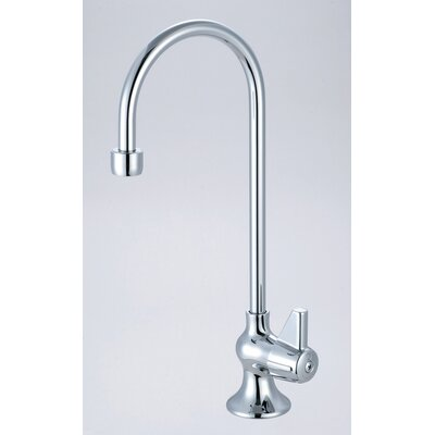 Single Handle Single Hole Bar Faucet with Rigid Gooseneck Spout