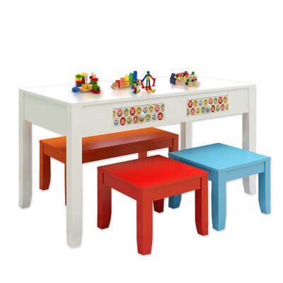 Najarian Furniture Paul Frank® Play Kids' 4 Piece Table and Chair Set