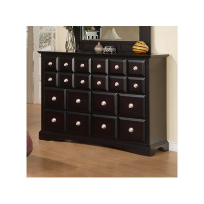 Najarian Furniture Palazzo 20 Drawer Dresser