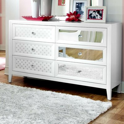 Najarian Furniture Impressions 6 Drawer Dresser