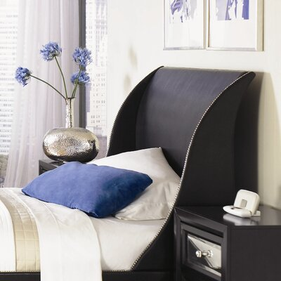 Najarian Furniture Reflections Sleigh Headboard