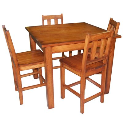 Vintage Editions 5 Piece Counter Height Dining Set