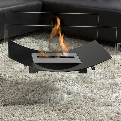 Bio-Blaze Veniz Bio Ethanol Fuel Fireplace with Glass