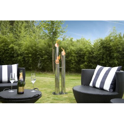 Bio-Blaze Outdoor Pipes Fire Columns