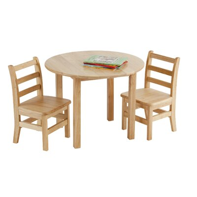 "ECR4kids 30"" Round Hardwood Table"