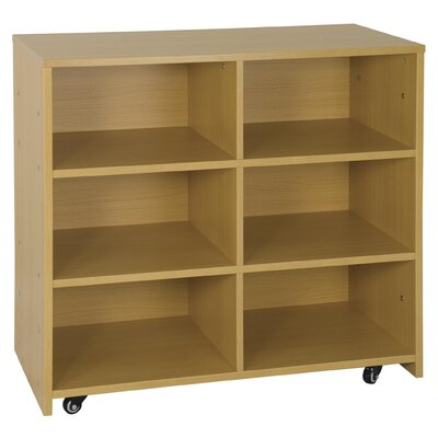 ECR4kids High Storage Center 6 Compartment Cubby