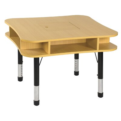 "ECR4kids 36"" Media Center Table in Maple"