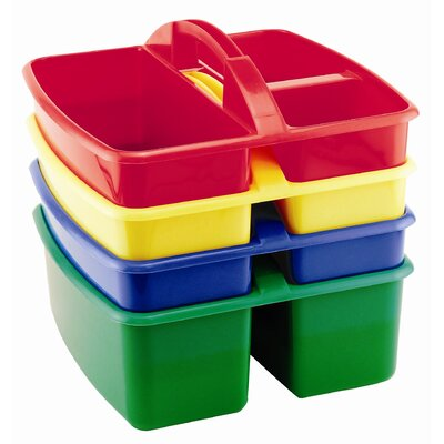 ECR4kids 4 Piece Art Caddy in Assorted