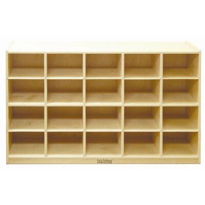 ECR4kids Cabinet 20 Compartment Cubby