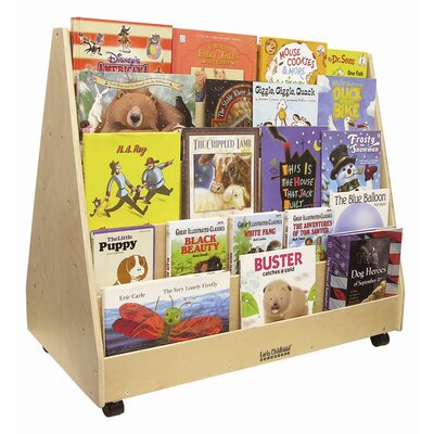 ECR4kids Mobile Two Sided Book Display Stand