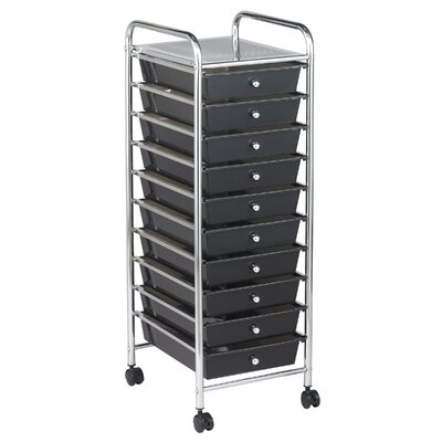 ECR4kids 10-Drawer Mobile Organizer