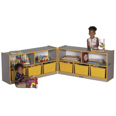 "ECR4kids 24"" Low Fold & Lock Cabinet, Laminate"