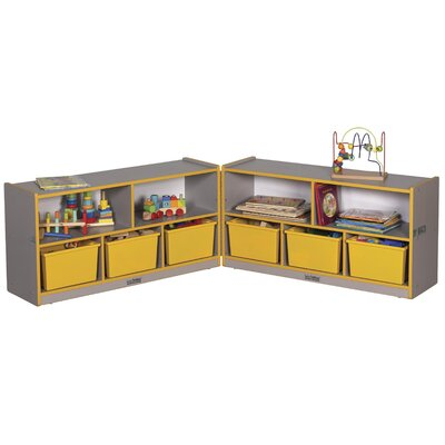 "ECR4kids 24"" Laminate Low Fold and Lock Cabinet"