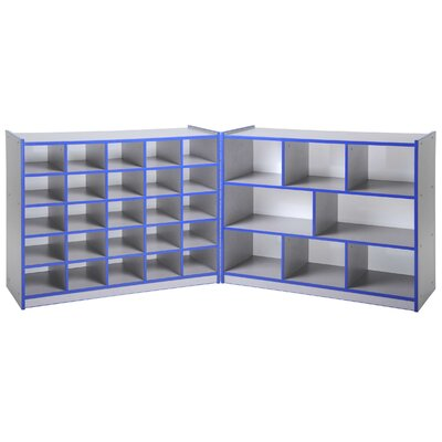 """ECR4kids 36"""" Fold and Lock Storage Cabinet with 25 Tray"""