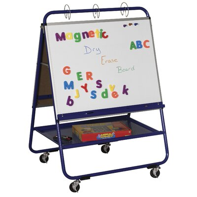 ECR4kids Steel Teacher Easel - Wide