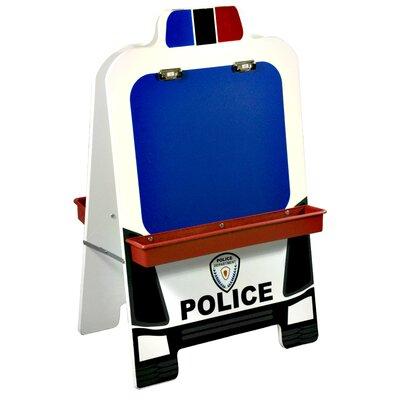 ECR4kids Police Car Easel