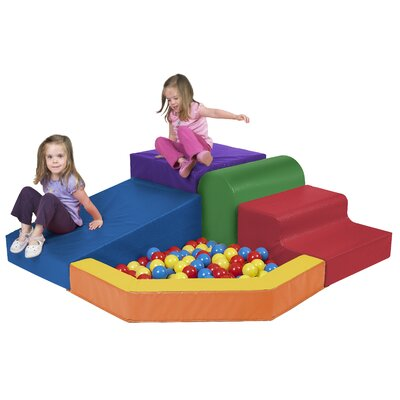 ECR4kids SoftZone™ Primary Climber with Ball Pool