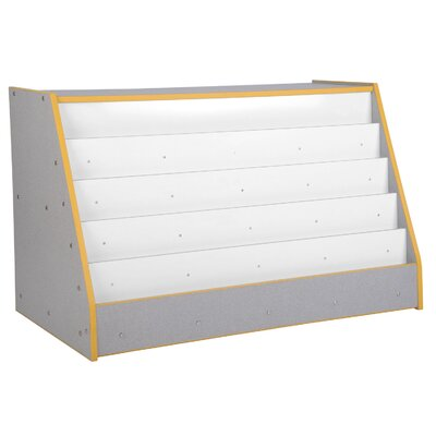 ECR4kids Mobile Book Display with  Storage Unit