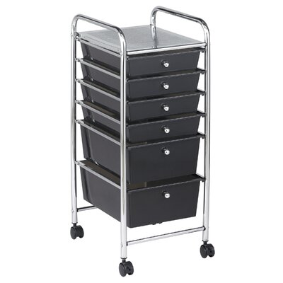 ECR4kids 6 Drawer Mobile Organizer