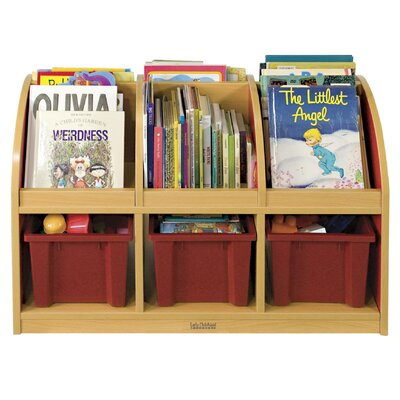 ECR4kids Colorful Essentials™ Double-Sided Book Stand - Toddler