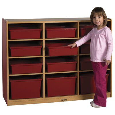 ECR4kids Colorful Essentials™ Multi-Purpose Cabinet 12 Compartment Cubby