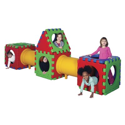 ECR4kids Twenty three Piece Tunnel Cube Play