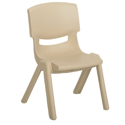"ECR4kids 12"" Polypropylene Classroom Stackable Chair (Set of 6)"