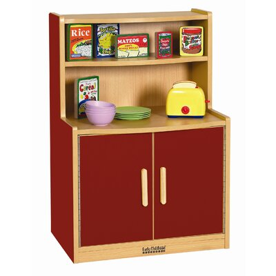 ECR4kids Colorful Essentials Play Cupboard