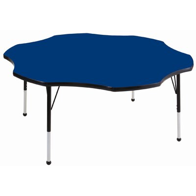 ECR4kids 60&quot; Flower Adjustable Activity Table