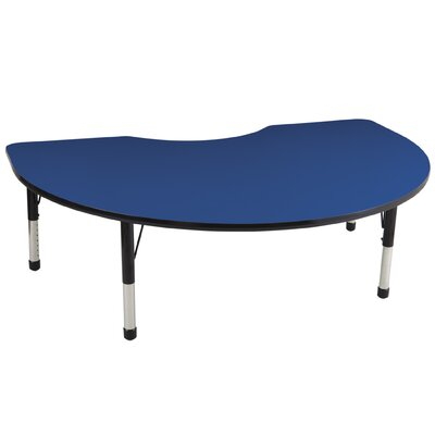 "ECR4kids 48'' x 72"" Kidney Adjustable Activity Table"