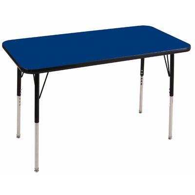 ECR4kids 24&quot; x 36&quot; Rectangular Adjustable Activity Table