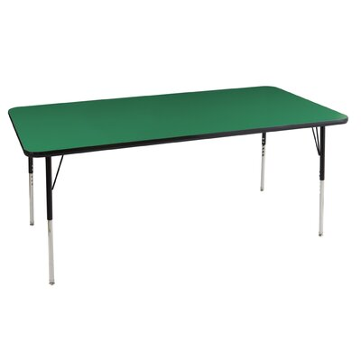 "ECR4kids 36"" x 72"" Rectangular Adjustable Activity Table"