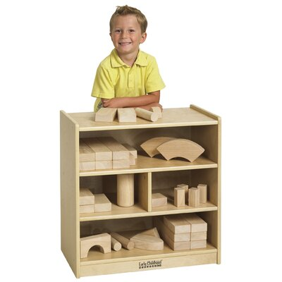 ECR4kids Small Block Storage Cart