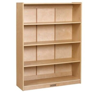 "ECR4kids 48"" Bookcase in Birch"