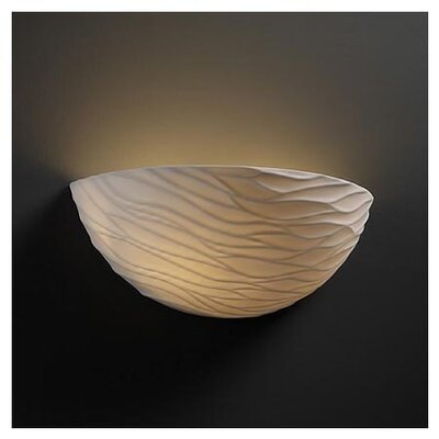 Justice Design Group Limoges 1 Light Wall Sconce