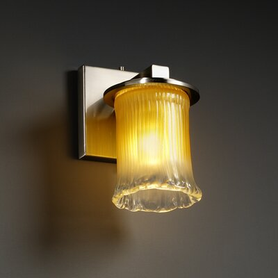 Justice Design Group Veneto Luce Dakota 1 Light Wall Sconce