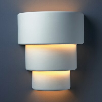 Justice Design Group Ambiance Terrace 1 Light Outdoor Wall Sconce