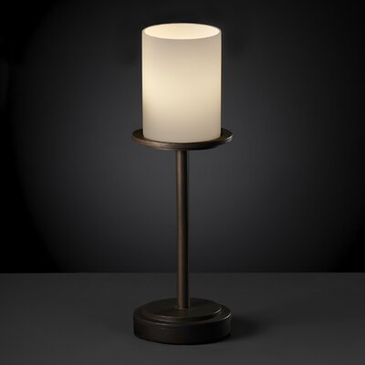Justice Design Group Dakota Fusion 1 Light Tall Table Lamp