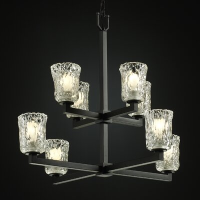 Modular Veneto Luce 8 Light Chandelier