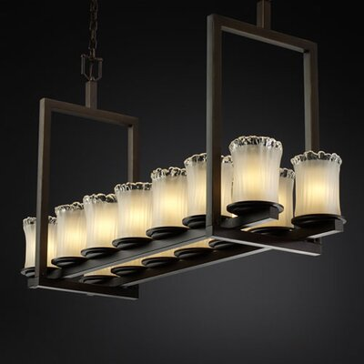 Justice Design Group Veneto Luce Dakota 14 Light Chandelier