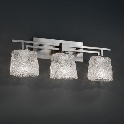 Justice Design Group Aero 3 Light  Bath Vanity Light