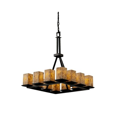 Alabaster Rocks Montana 60W 12 Light Chandelier