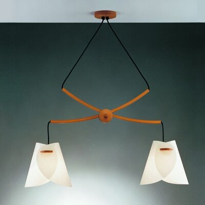 Justice Design Group Domus 2 Light Pendant