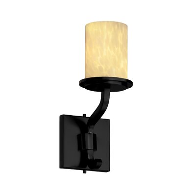 Justice Design Group Sonoma Fusion Short 1 Light Wall Sconce